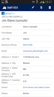 Dynamics CRM for phone express- screenshot thumbnail