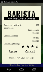 Barista- screenshot thumbnail