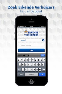 Erkende Verhuizers App - screenshot thumbnail