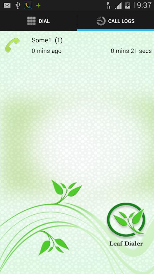 Leaf Dialer - screenshot