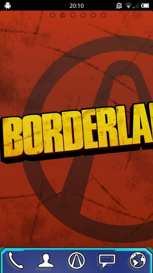 Borderlands 2 Go theme - screenshot