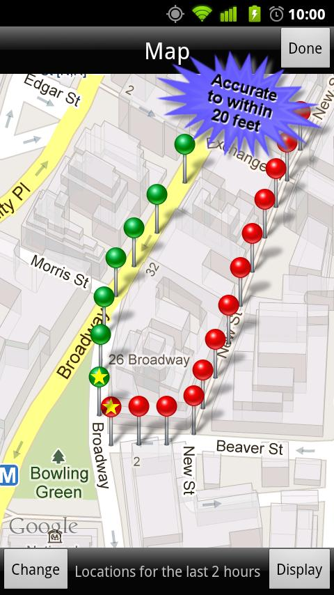 GPS Phone Tracker Lite - screenshot