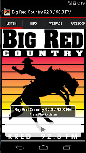 Big Red Country 92.3 - 98.3 FM
