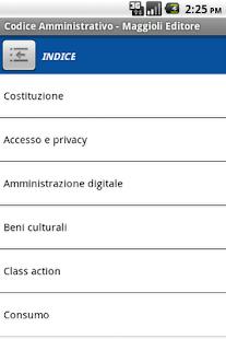 Codice Amministrativo- screenshot thumbnail