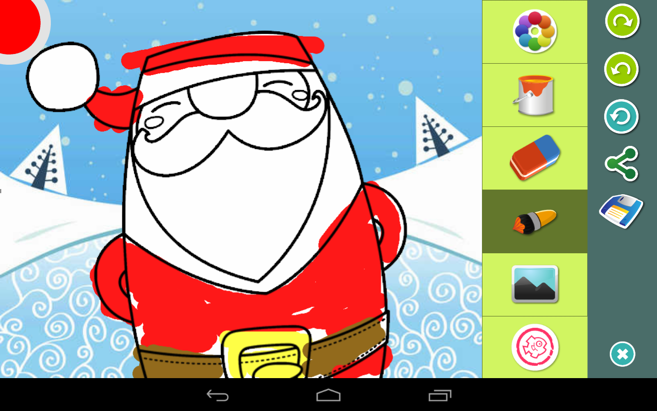 Coloring Pages App Android : Christmas coloring pages android apps on google play