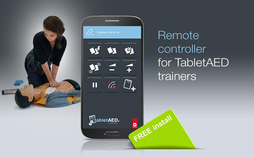 TabletAED remote