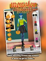 Screenshot of Monster Halloween Spa Salon