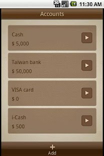 Money Notes Lite- screenshot thumbnail