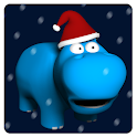 Fool Animals 3d - XmasHippo icon