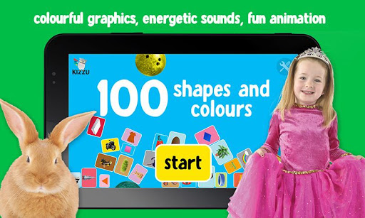 100 Shapes colours for baby