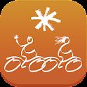 Ocres à vélo