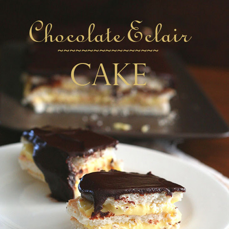 Chocolate Eclair Cake – Low Carb and Gluten-Free Recipe