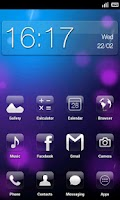 Screenshot of Crystal HD - ADW / LPP theme