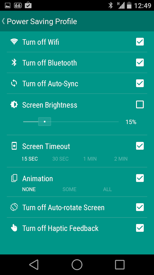 Battery Saver - Bataria- screenshot