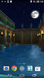 Roman Bath 3D Live Wallpaper APK screenshot thumbnail 2