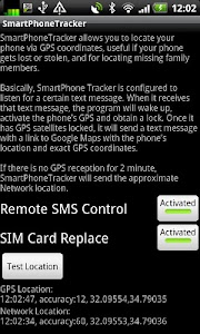 SmartPhoneTracker Free screenshot 1