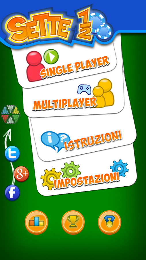 Italian Blackjack- screenshot
