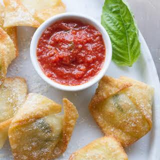 Super Simple Fresh Mozzarella and Basil Bites.