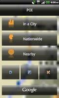 Screenshot of NAVIGON select UK