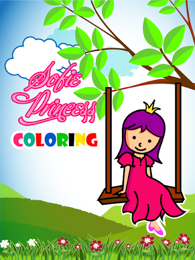 Sofie Princess Coloring