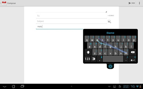 SwiftKey Keyboard Free - screenshot thumbnail