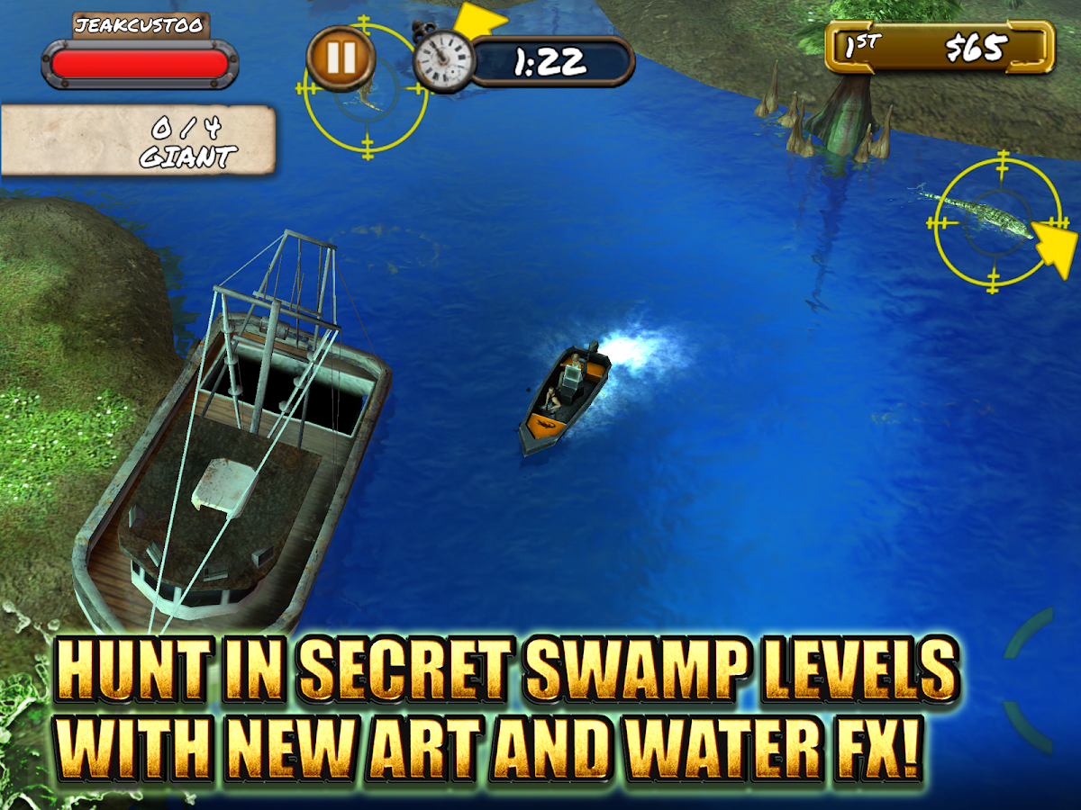 Swamp People- screenshot