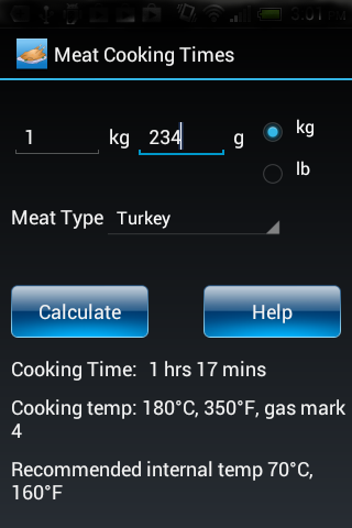 Meat Cooking Times