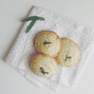 Lavender Almond Cookies.