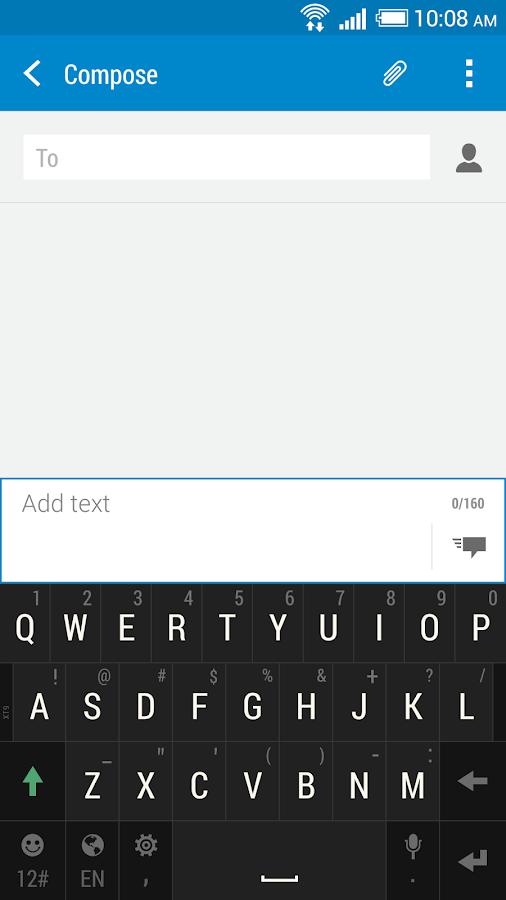 HTC Sense Input - screenshot