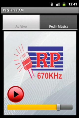 Rádio Patriarca AM 670 Khz - screenshot