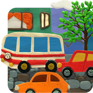 Plasticine town Live wallpaper 個人化 LOGO-玩APPs