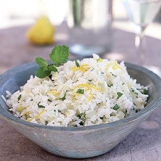 Lemon Mint Rice.