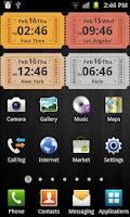 Screenshot of Awesome Clock Widget