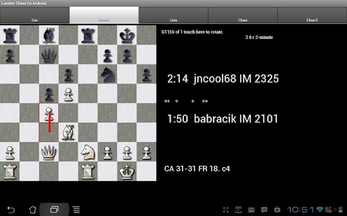 Lantern Chess on Android- screenshot thumbnail