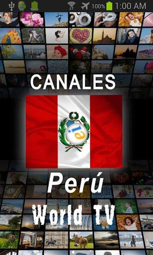 Canales de Perú Tv
