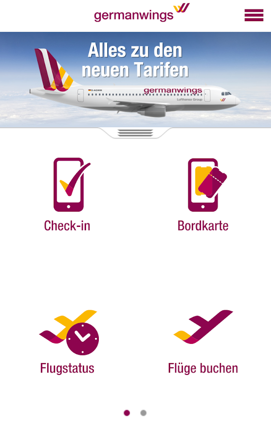 Germanwings - screenshot