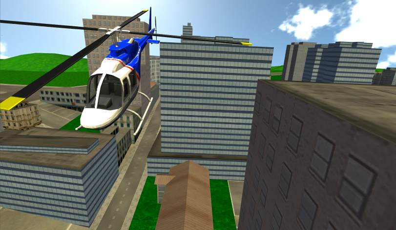 City Helicopter- screenshot