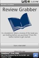 Screenshot of Review Grabber