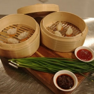 Prawn and Chinese chive dumplings