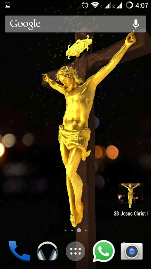 Jesus christ 3d live wallpaper android apps on google play - 3d jesus wallpapers ...