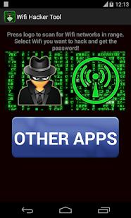 WiFi Password Hacker Simulator - náhled