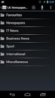 Screenshot of UK Newspapers Online