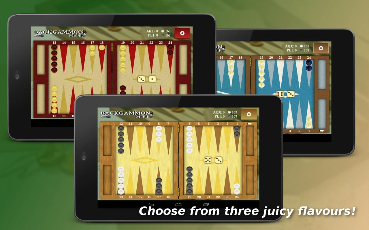 Backgammon Mobile - Online- screenshot