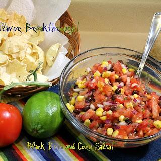 Black Bean and Corn Salsa!