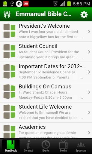 EBC Campus Life