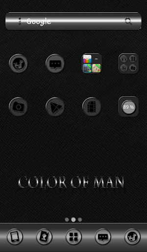 Color of man Dodol Theme