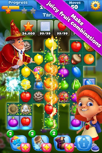 Fruit Land – match4 adventure- screenshot thumbnail