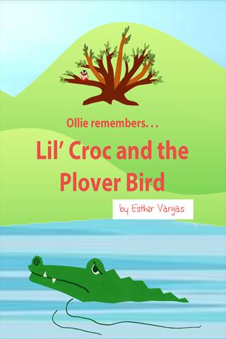 Lil' Croc and the Plover Bird