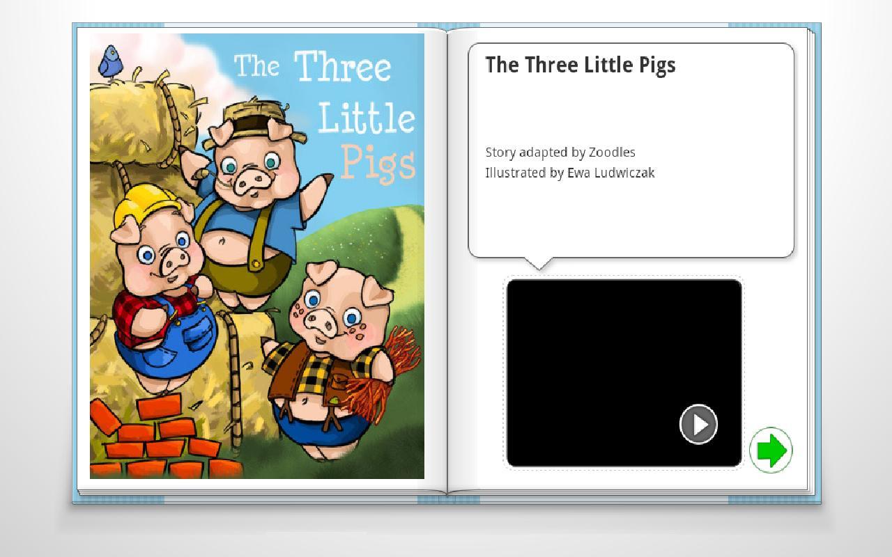 The Three Little Pigs - screenshot