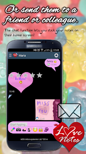 Ecards & Love Notes E2E Encrypted Messenger - náhled